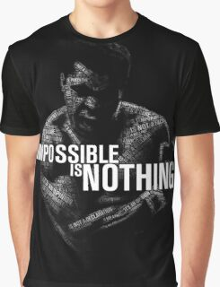 "Mohamed Ali ""impossible is nothing"" Graphic T-Shirt"