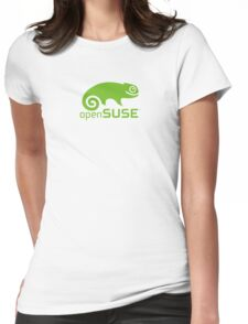 Open Suse logo  Womens Fitted T-Shirt