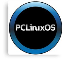 pc linux os logo Canvas Print