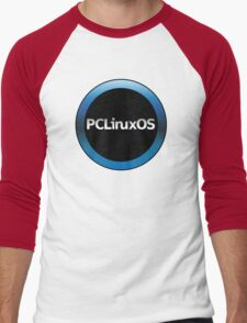 pc linux os logo Men's Baseball ¾ T-Shirt