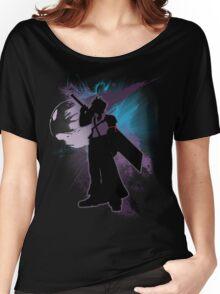 Super Smash Bros. Purple Advent Cloud Silhouette Women's Relaxed Fit T-Shirt