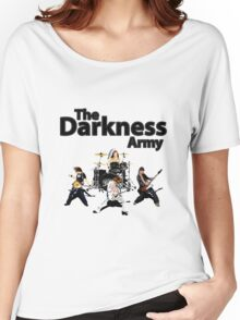 The Darkness Army Pixel Art Design Women's Relaxed Fit T-Shirt