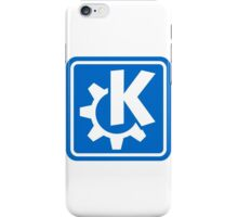 KDE logo iPhone Case/Skin