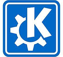 KDE logo Photographic Print
