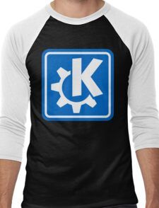 KDE logo Men's Baseball ¾ T-Shirt