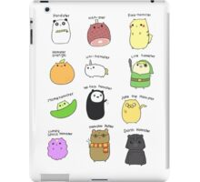 Hamsters, Hamsters Everywhere iPad Case/Skin