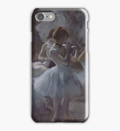 Edgar Degas - Dancers (1884 - 1885) Impressionism  ballerina dancer iPhone Case/Skin