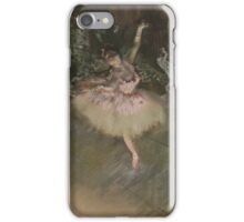 Edgar Degas - The Star ( 1876-1878)Impressionism  ballerina dancer iPhone Case/Skin