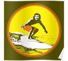 Surfer Che Poster