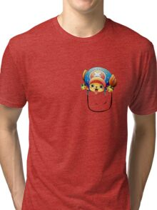 One piece TonyTony Chopper Tri-blend T-Shirt