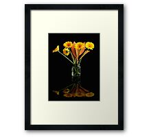 Flowers Framed Print