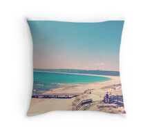 Landscape Beach Beauty Throw Pillow