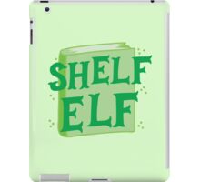 SHELF ELF with books (librarian book putting away assistant) iPad Case/Skin