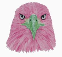 Special Eagle (pink) Kids Tee