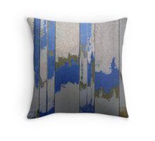 Vertical Abstract Throw Pillow