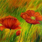 Red Poppies by Veikko  Suikkanen