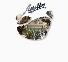 Austin Mini Torn T Shirt Unisex T-Shirt