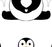 PANDAS & PENGUINS Sticker