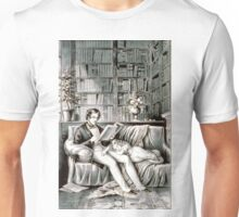 Father and child - 1849 - Currier & Ives Unisex T-Shirt