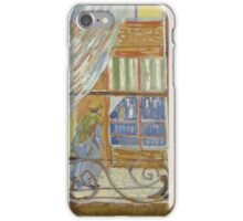 Vincent Van Gogh - View of a butcher's shop, February 1888 - 1888 iPhone Case/Skin
