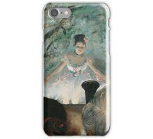 Edgar Degas - Orchestra Musicians (1872) Impressionism  ballerina dancer iPhone Case/Skin