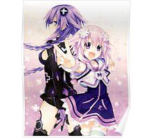 Hyperdimension Neptunia - NEPNEP Poster