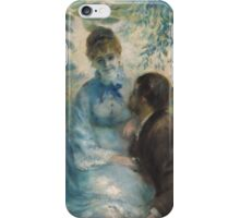 Auguste Renoir - Lovers 1875  Romance iPhone Case/Skin