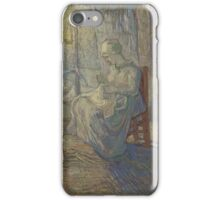 Vincent Van Gogh - Night after Millet, 1889 iPhone Case/Skin
