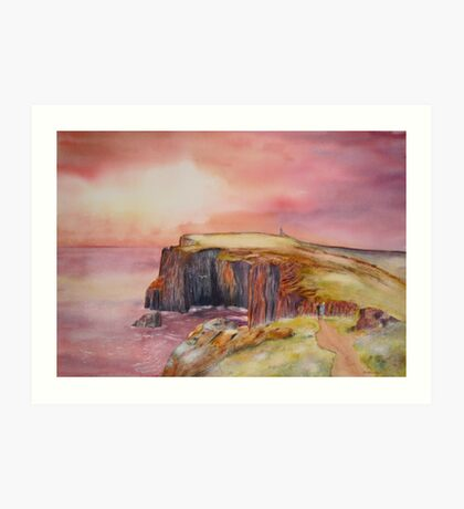 On the Isle of May - Scotland Art Print