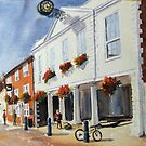 Hythe Kent, the town Hall by Beatrice Cloake