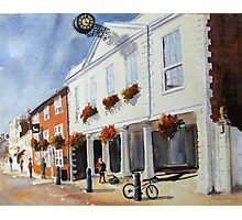 Hythe Kent, the town Hall Photographic Print