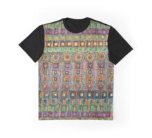 Marvellous Rows of Squares and Circles with Points  Graphic T-Shirt
