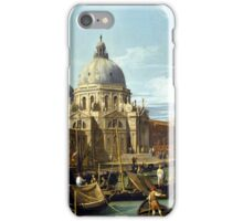 Canaletto Bernardo Bellotto - The Entrance to the Grand Canal, Venice  1730 iPhone Case/Skin