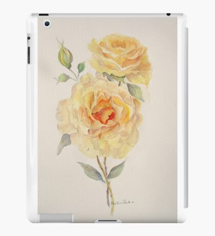 One rose or two iPad Case/Skin
