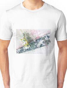 The Steel Jungle, Manhattan - Original Wall Modern Abstract Art Painting Original mixed media Unisex T-Shirt