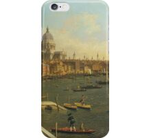 Canaletto Bernardo Bellotto - London - The Thames from Somerset House Terrace towards the City1750 - 1751 iPhone Case/Skin