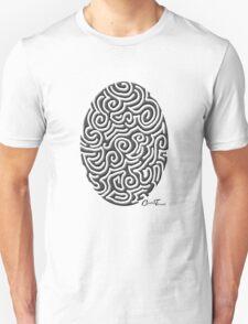 Easter - Black on White Unisex T-Shirt