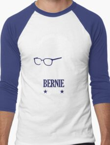 Bernie Sanders 2016 Blue Men's Baseball ¾ T-Shirt