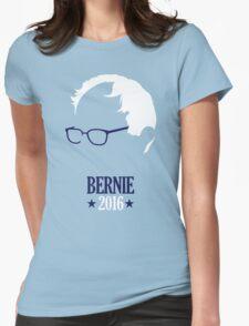 Bernie Sanders 2016 Blue Womens Fitted T-Shirt