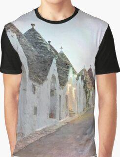Alberobello trulli Graphic T-Shirt