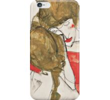 Egon Schiele - Mother and Daughter 1913 iPhone Case/Skin