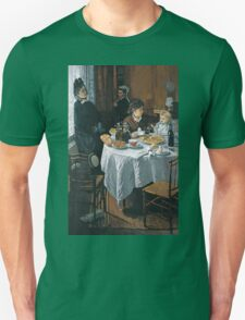 Claude Monet - The Luncheon ,Impressionism T-Shirt