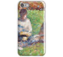 Georges Seurat  - The Picnic  1885 iPhone Case/Skin