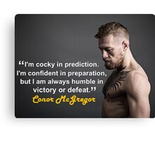 McGregor Canvas Print