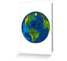 Our Home Planet:  Earth Greeting Card