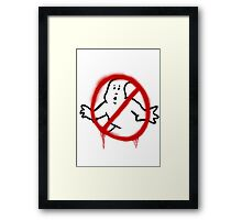 Who you gonna call? 2 Framed Print