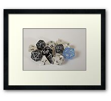 Limited Edition - Peggy's Dice Framed Print