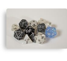 Limited Edition - Peggy's Dice Canvas Print
