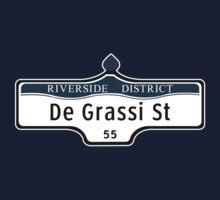 DeGrassi Street Sign, Riverside District, Toronto, Canada Baby Tee