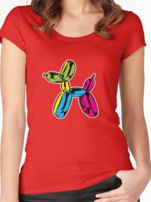 Balloon Dog Women's Fitted Scoop T-Shirt